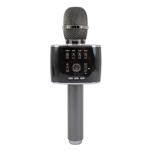 スマホカラオケマイク スピーカー付き カラオケ MP-30 Bluetoothでワイヤレス接続 マイクカラオケ スマホカラオケ 家庭用カラオケ マイクとスピーカーの一体型 インターネットカラオケマイク の様にスマホと接続
