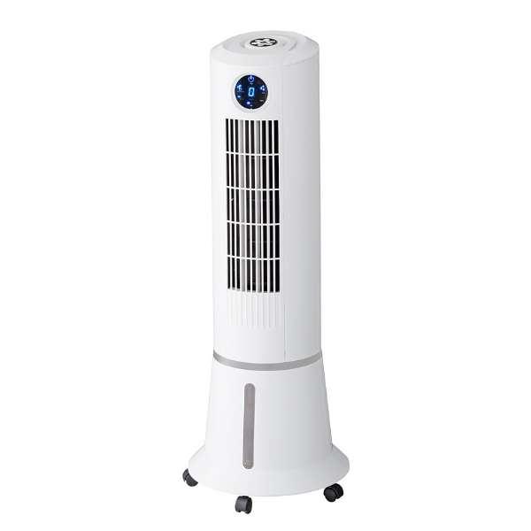 《500円クーポン配布》 スリーアップ スリムタワー冷風扇 ウォータークールファン RF-T1801-WH リモコン付 マイナスイオン タンク5L タワーファン 涼風扇 冷風機 扇風機 送風機 RFT1801WH