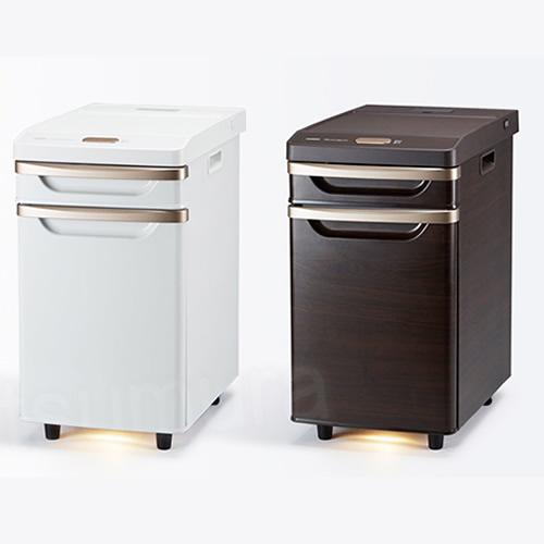 ★最大43倍+クーポン★ TWINBIRD ベッドサイド冷蔵庫 HR-D282W HR-D282BR 小型冷蔵庫 寝室用冷蔵庫 HRD282W HRD282BR