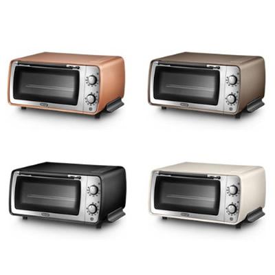 EOI407J デロンギ オーブントースター ディスティンタコレクション ピザストーン付き オーブン機能+トースター ピザ焼き パン焼き