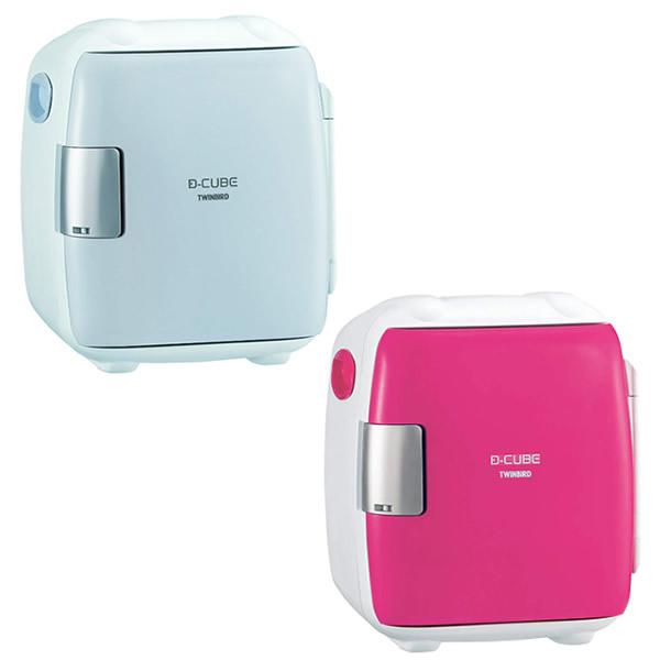 《100円クーポン配布》 ツインバード HR-DB06GY 2電源式コンパクト電子保冷保温ボックス D-CUBE S HRDB06GY 車内用冷蔵庫