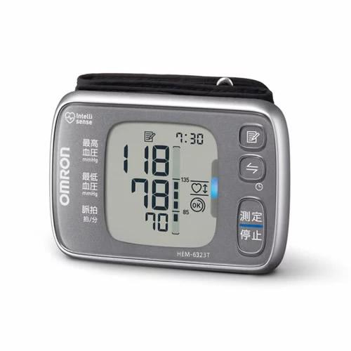 《500円クーポン配布》 オムロン 手首式血圧計 HEM-6323T 自動血圧計 スマホで管理 手首血圧計 日本製 OMRON 血圧計 デジタル血圧計 HEM6323T