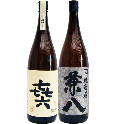 兼八 麦 1800ml四ツ谷酒造 と喜六(きろく) 芋 1800ml黒木本店 焼酎 飲み比べセット 2本セット