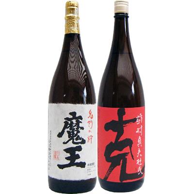 克 芋 1800ml東酒造 と魔王 芋 1800ml白玉酒造 焼酎 飲み比べセット 2本セット