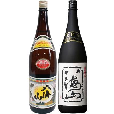 八海山 普通酒 1.8Lと八海山 大吟醸 1.8L 日本酒 飲み比べセット 2本セット