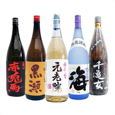 焼酎 飲み比べセット 1800ml×5本 濱田酒造 赤兎馬 と 芋焼酎 ギフトセット 送料無料