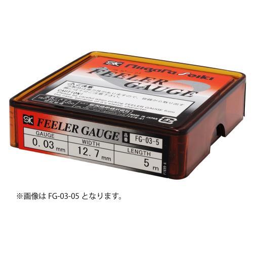 新潟精機 フィラゲージ 0.07x5m FG-07-5