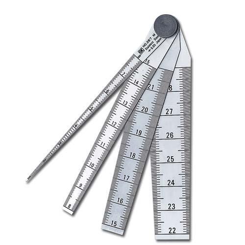 新潟精機 テーパーゲージ #267 1-29 TPG-267MD 測定範囲1-29mm 保護用キャップ付【隙間 長さ 穴径 測定】