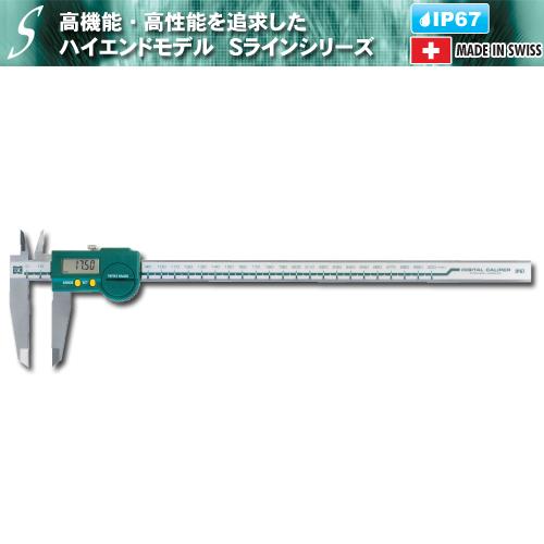 人気 新潟精機 D-300IP67S:新潟精機 デジタルSラインキャリパ-DIY・工具