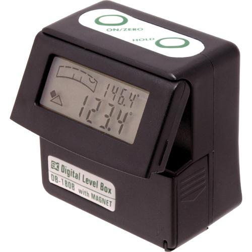 新潟精機 デジタルレベルボックス DB-180B【レベル 測定 測量 水平器】