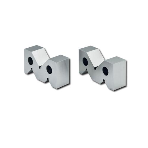 新潟精機 鋳鉄製精密Vブロック 研磨仕様品 SVG-125