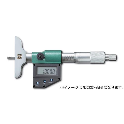 新潟精機 デジタルデプスマイクロメータ MCD233-25FB
