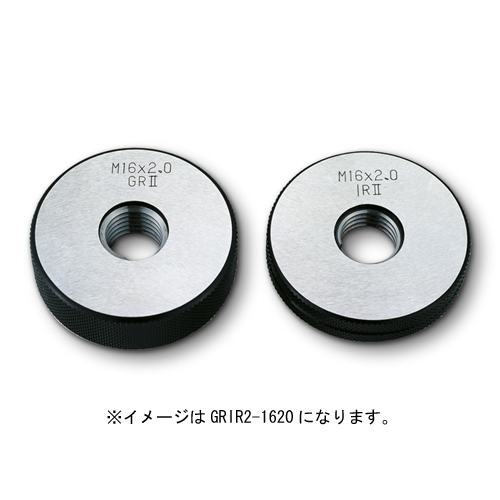 新潟精機 限界ねじリングセット検査用 M6xP1.0 GRIR2-0610