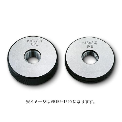 新潟精機 限界ねじリングセット検査用 M12xP1.5 GRIR2-1215
