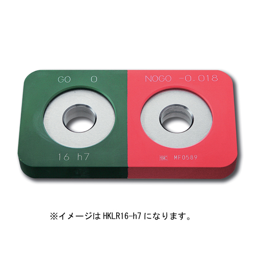 新潟精機 鋼限界リングゲージ保護カバー付φ11h7HKLR11-h7