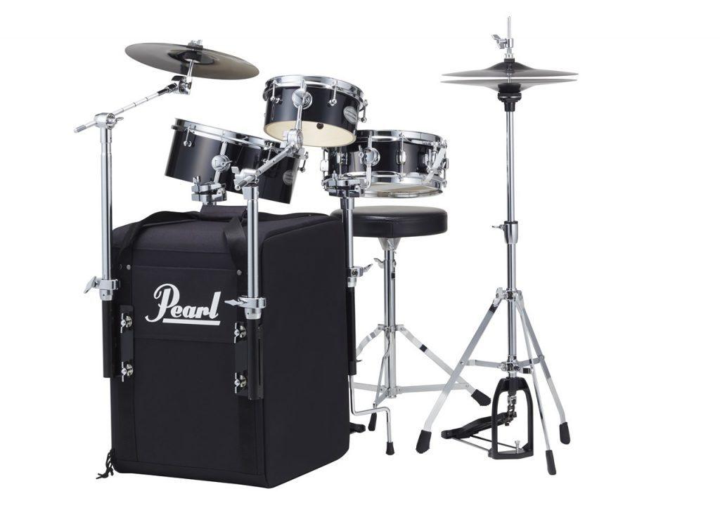 """Pearl Rhythm Traveler パール リズム・トラベラー """"Black Box"""" RT-703/C ドラムセット"""