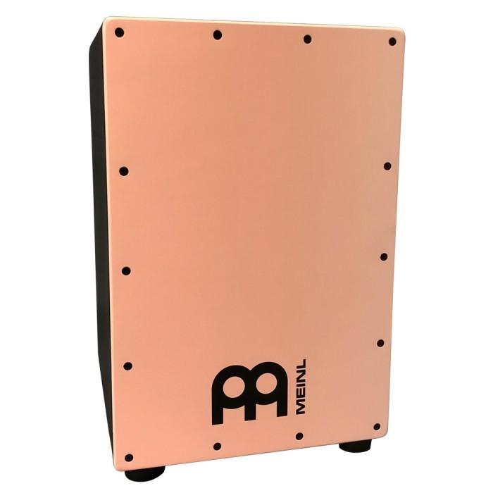 カホンケース付 送料無料 カホン MEINL マイネル HEADLINER SERIES 無料サンプルOK 送料無料激安祭 ピンク W298xH457xD298 CAJON SNARE フラミンゴ MCAJ100BK-SF+