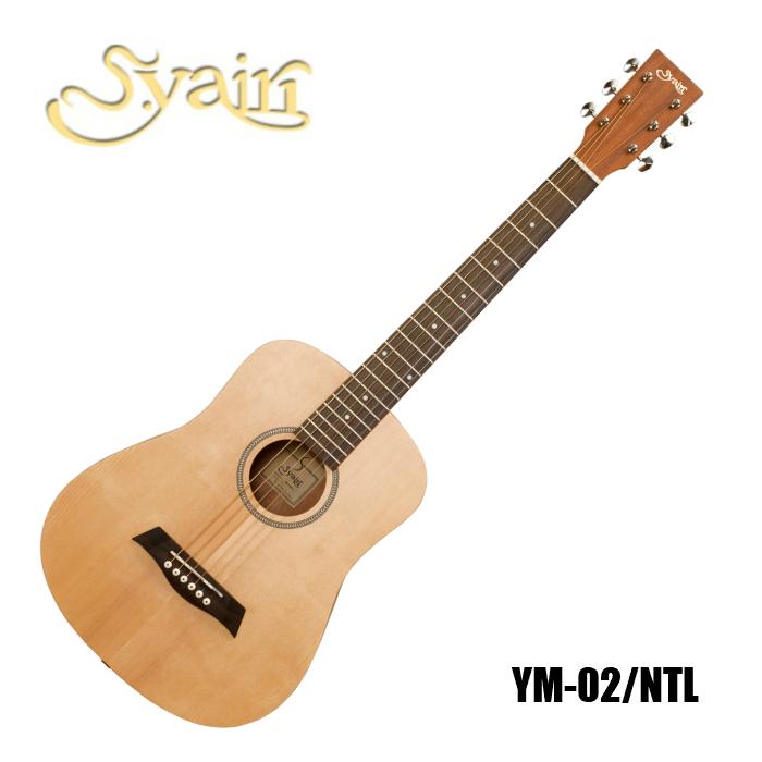 アコースティックギター S.Yairi ミニギター コンパクトサイズ YM-02/NTL Compact-Acoustic Series フォークギター