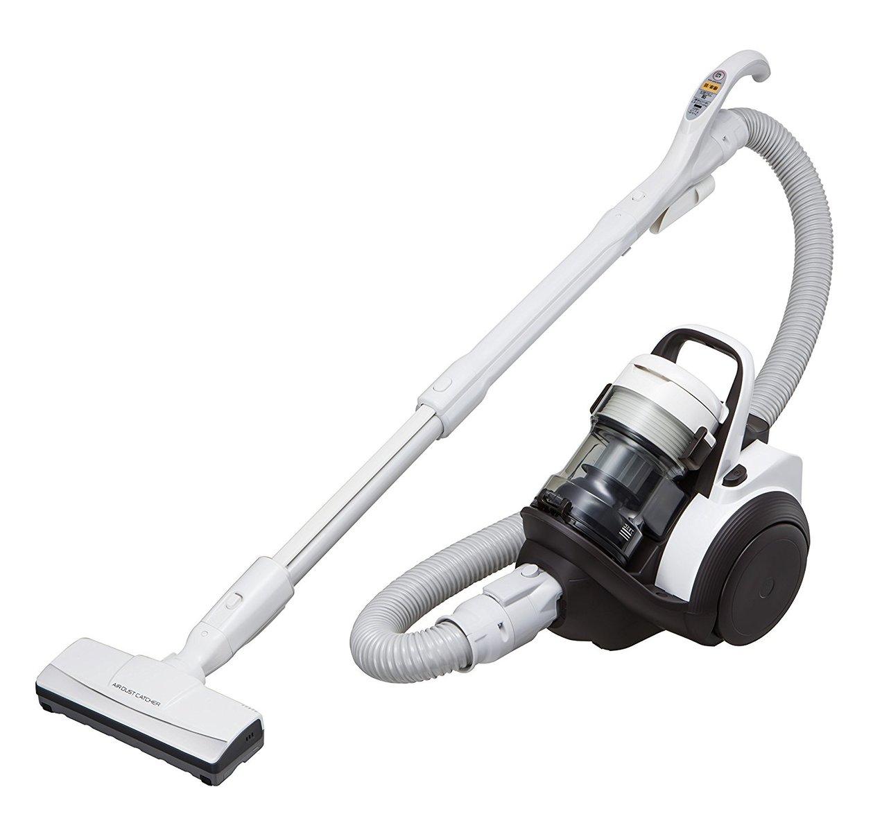 【送料無料 新品】パナソニック サイクロン掃除機 ショコラホワイト MC-SR24J-W