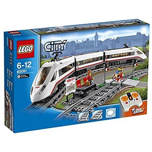 【送料無料 新品】レゴ (LEGO) シティ ハイスピードパッセンジャートレイン 60051