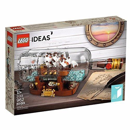 【送料無料 新品】レゴ(LEGO) アイデア シップ・イン・ボトル 21313