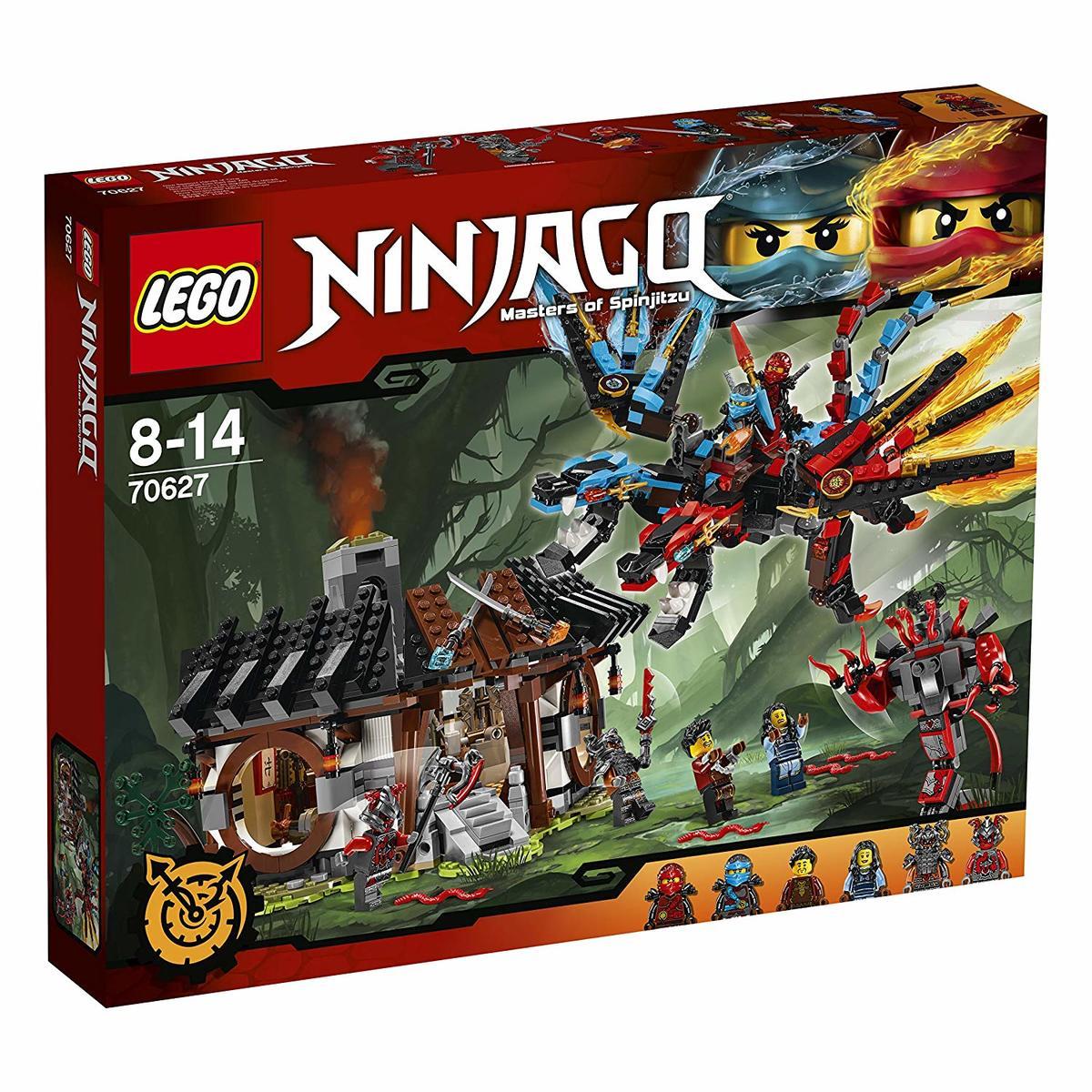 【送料無料 新品】レゴ(LEGO) ニンジャゴー エレメント・ドラゴン:ファイヤーオーシャン 70627