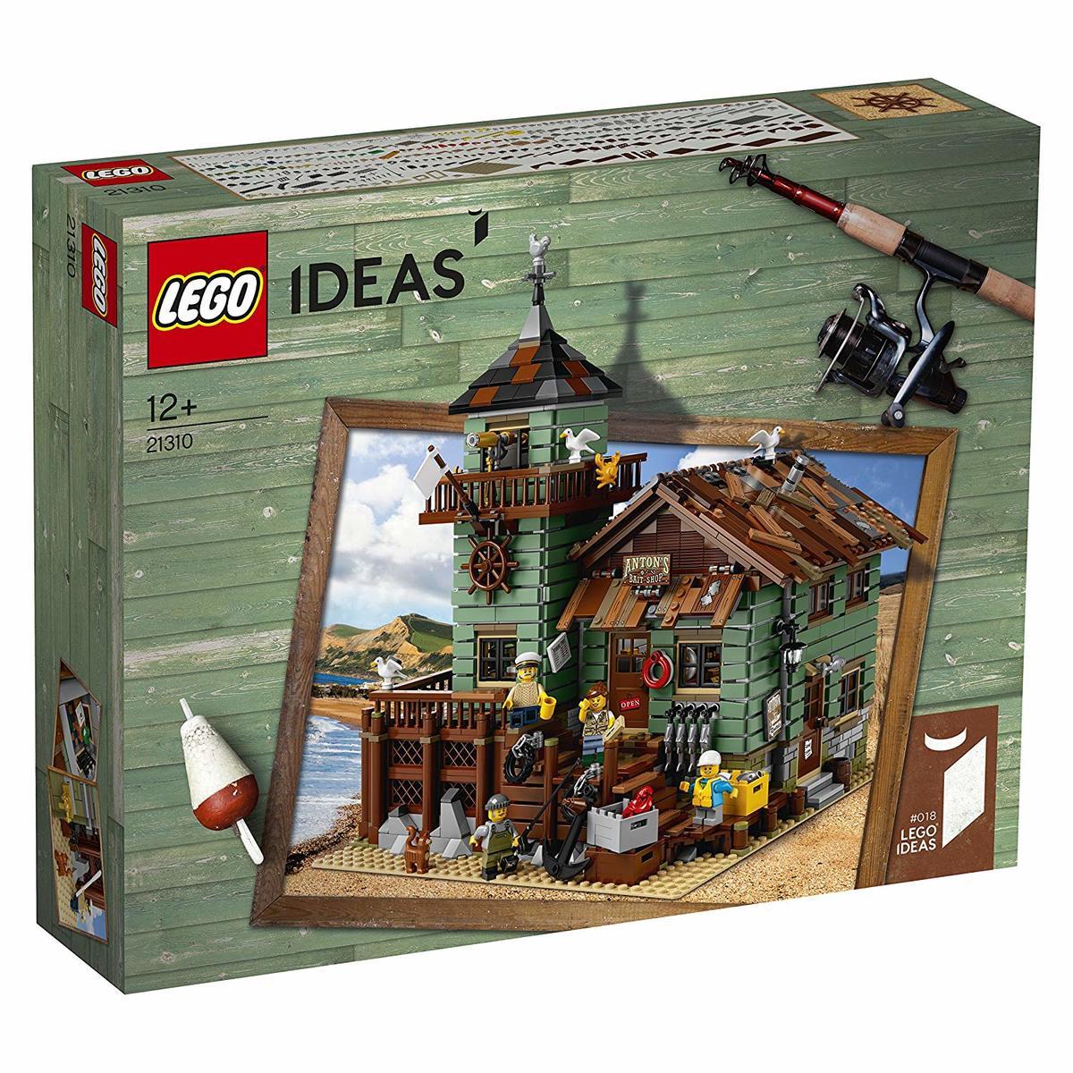 【送料無料 新品】レゴ(LEGO) アイデア つり具屋 21310