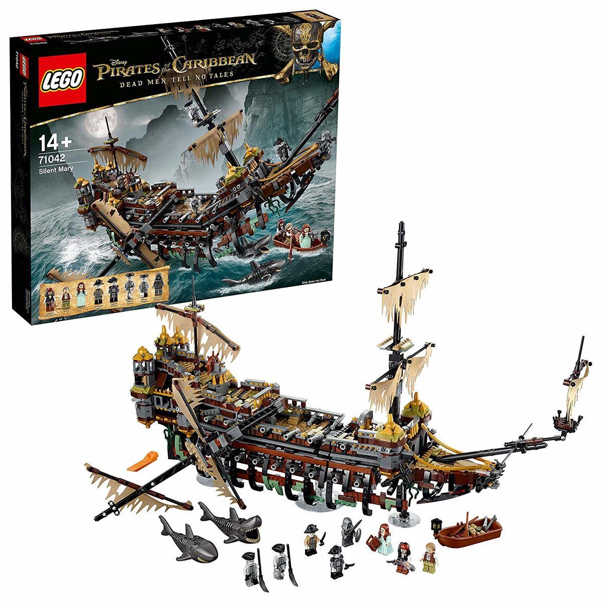 【送料無料 新品】レゴ(LEGO)パイレーツオブカリビアン サイレント・メアリー号 71042