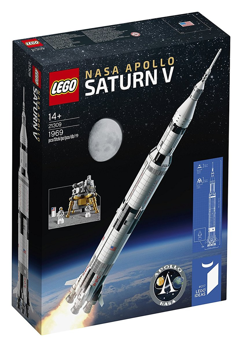 【送料無料 新品】レゴ(LEGO)アイデア レゴ(R) NASA アポロ計画 サターンV 21309