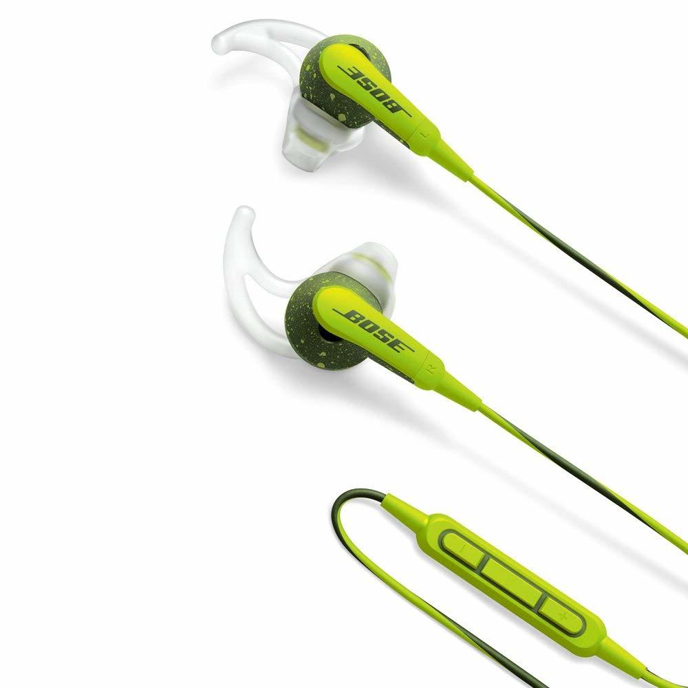 【送料無料】Bose SoundSport in-ear headphones - Apple devices ボーズ サウンドスポーツ イヤホン エナジーグリーン Apple製品対応モデル