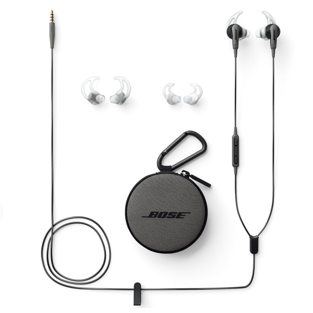 Bose SoundSport in-ear headphones - Samsung and Android devices イヤホン チャコール アンドロイド対応
