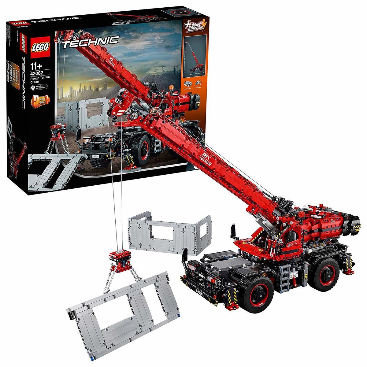 【送料無料】レゴ (LEGO) テクニック 全地形対応型クレーン 42082