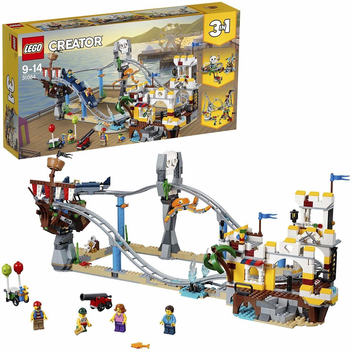 【送料無料】レゴ(LEGO)クリエイター ローラーコースター 31084