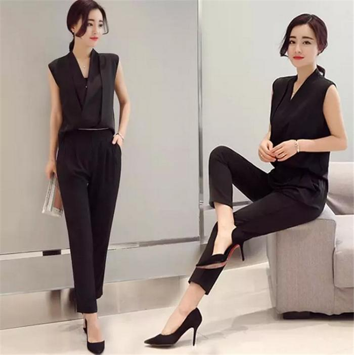 be93e5534170 niitas  All-in-one formal OL zip overalls set up wind pants rompers ...