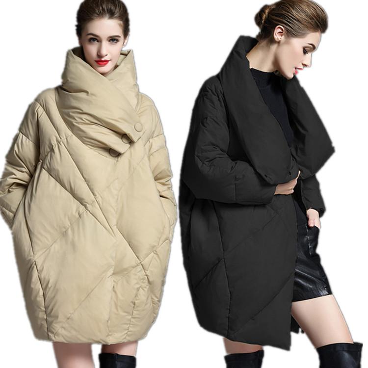 新作 ヨーロッパ風 ダウンコート ダワンジャケット 90%アヒル毛羽 ロング 妊婦でも着れる 保温 軽量 アウター ダウンコート XS-2XL Aライン