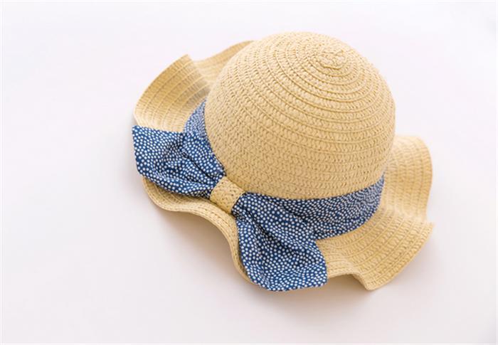 麦わら帽子 キッズ ストローハット 子供用 女の子 麦わらハット 帽子 夏 ハット UVカット UV帽子 UV ハット 日焼け止め UV対策  紫外線カット 紫外線対策