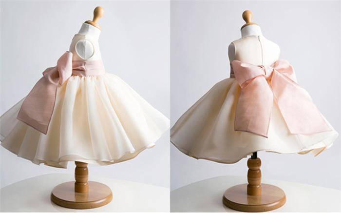 Dresses for Juniors Ivory Presentation
