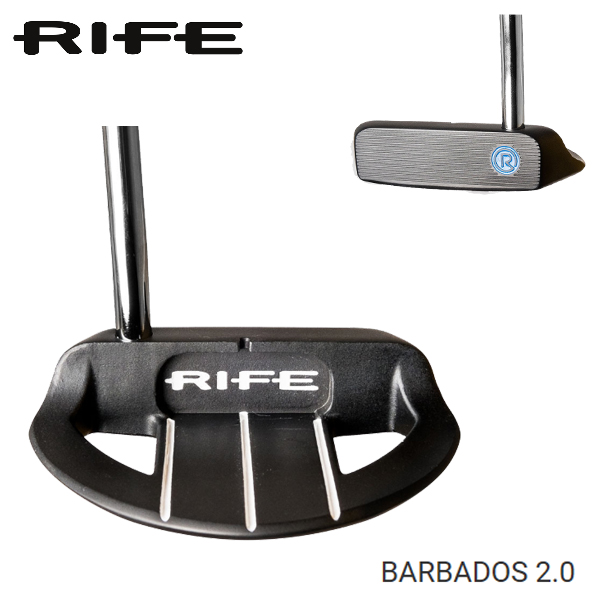 RIFE PUTTER/ライフパターBARBADOS 2.0/バルバドス2.0日本正規品【送料無料】