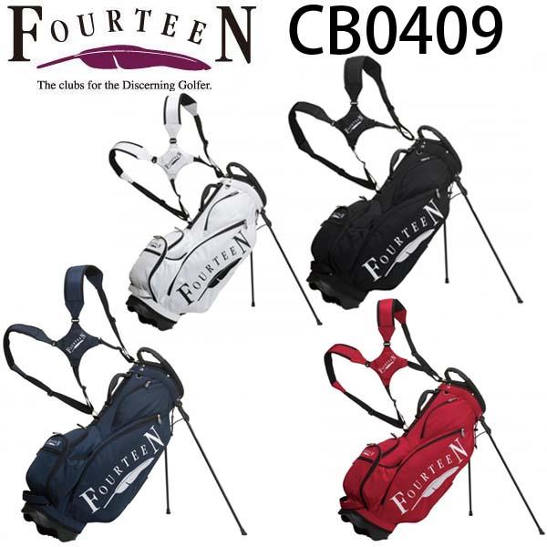 フォーティーンCB0409 9型スタンドキャディバッグFOURTEEN CB-0409【送料無料】