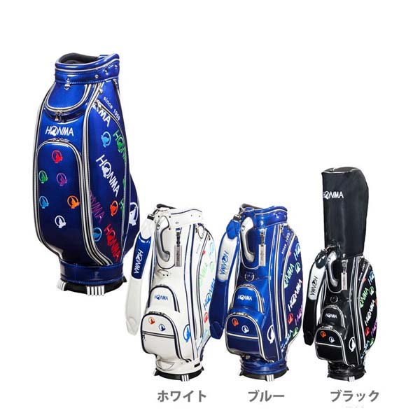 ホンマゴルフエナメル 9型キャディバッグ CB-1728HONMA【送料無料】