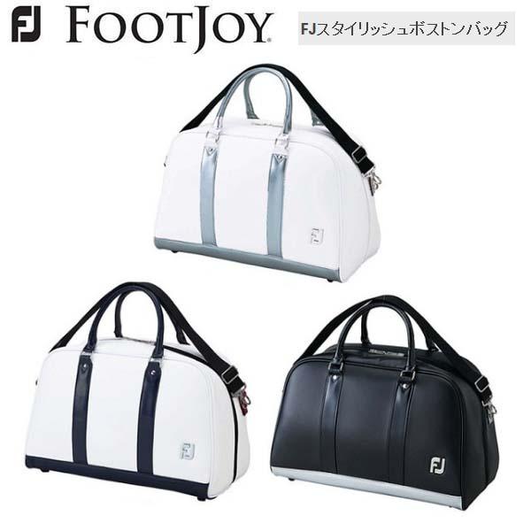 【2018年モデル】 Foot Joy/フットジョイ FJ スタイリッシュボストンバッグ FJBB1818 TR/WT/BK 【日本正規モデル】