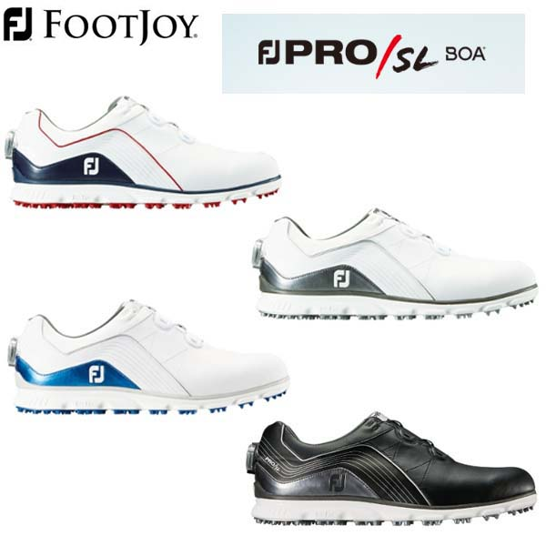 【2019年モデル】FootJoy/フットジョイ FJ PRO/SL BOA プロ エスエル ボア スパイクレス ゴルフシューズ #53290 #53287 #53291 #53292 【日本正規品】