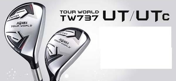 【受注生産】ホンマゴルフTOUR WORLD TW737 UTc ユーティリティVIZARD IB-Uカーボンシャフト装着本間ゴルフ/HONMAUTC VIZARD IB-Uシャフト【送料無料】