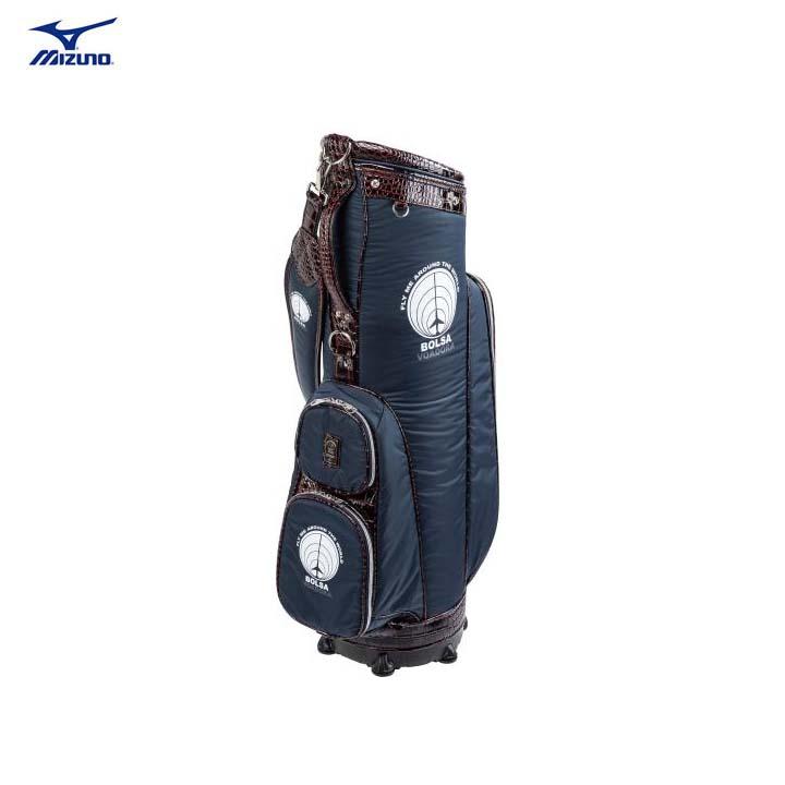 ミズノ ゴルフ/MIZUNO GOLF ボルサ フィット メンズキャディバッグ BOLSA FIT 5LJC20120014 9.5型 47インチ対応 【送料無料】