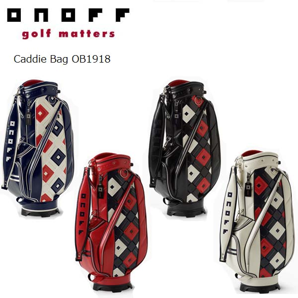 【2018年モデル】ONOFF/オノフ OB1918 キャディバッグ 9型 グローブライド/Globeride Caddie Bag 【送料無料】