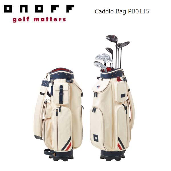 ONOFF/オノフ PB0115 キャディバッグ 8.5型 PATRICK/パトリック コラボレーションモデル グローブライド/Globeride Caddie Bag 【送料無料】