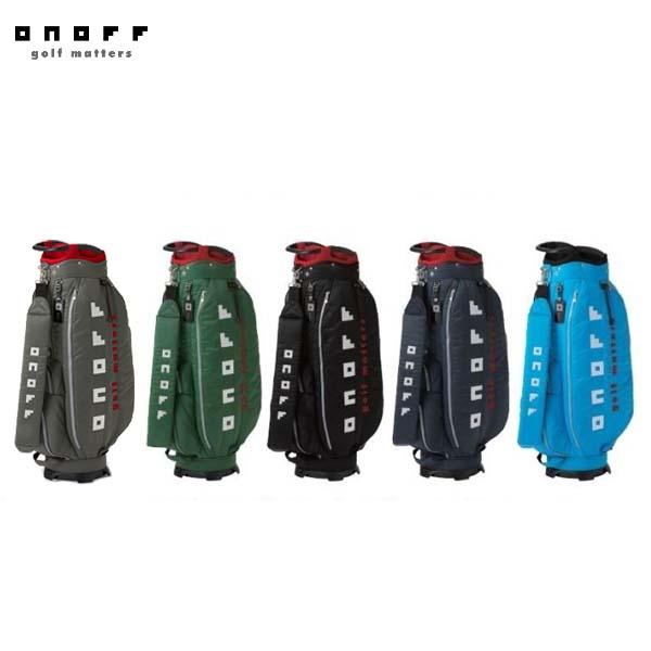 【2019年モデル】ONOFF/オノフ OB3619 キャディバッグ 9型 グローブライド/Globeride Caddie Bag 【送料無料】