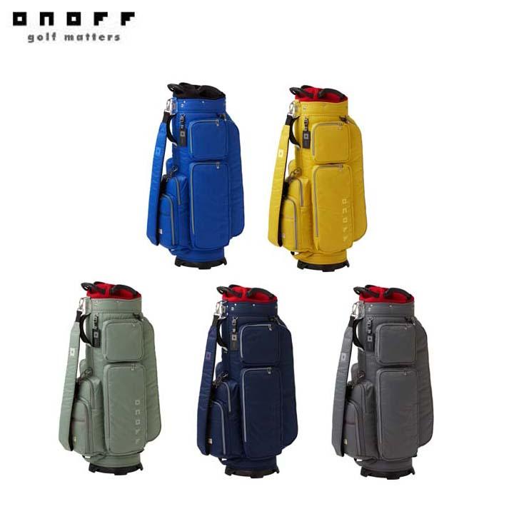 【2020年モデル】ONOFF/オノフ OB0420 軽量キャディバッグ 9型 グローブライド/Globeride ナイロンツイルシリーズ Caddie Bag 【送料無料】