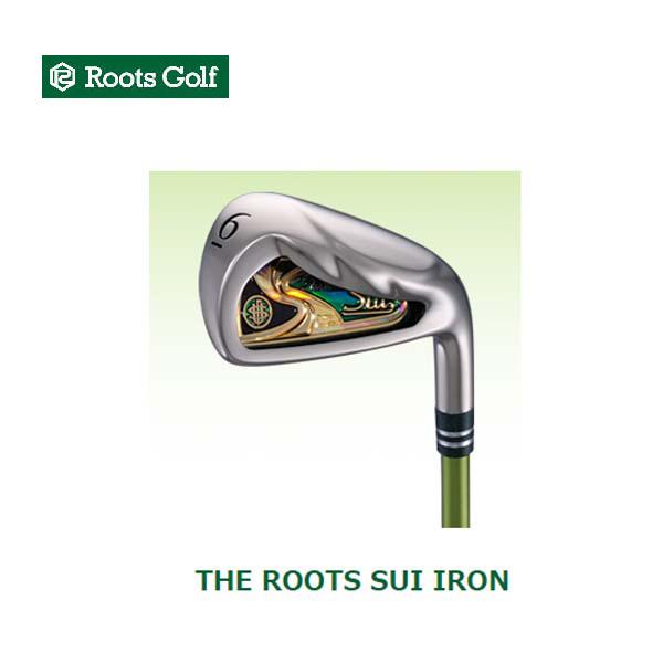 ROOTS GOLF/ルーツゴルフTHE ROOTS SUI IRON 6本セット(#6~AW)スイ アイアン SUIアイアンシャフト【送料無料】