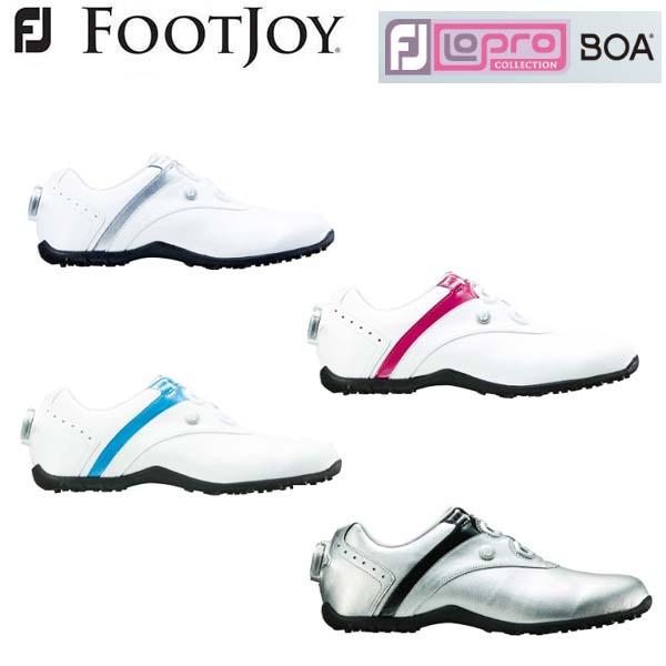 【レディース】2018年モデル フットジョイ ロープロ スパイクレス ボア FootJoy LoPro Spikeless boa #97187 #97191 #97194 #97195 ウィメンズ ゴルフシューズ Ladies 【日本正規モデル】【送料無料】